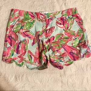 Lilly Pulitzer Shorts - Lilly Pulitzer Buttercup Shorts, Size 8
